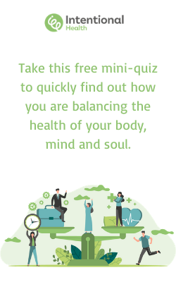 How balanced is your health and wellbeing?