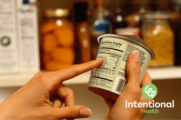 Intentional Health Food Labels