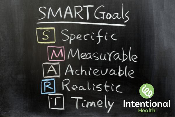 Intentional Health goals and rewards