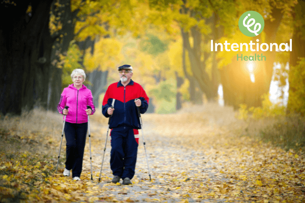 Intentional Health exercise - walking