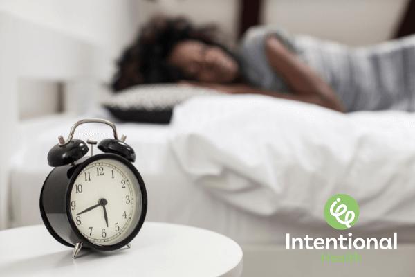 Intentional Health goals and rewards sleep