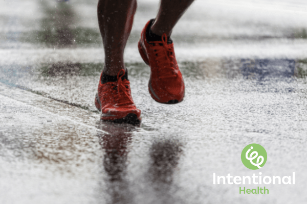 Intentional Health exercise - running