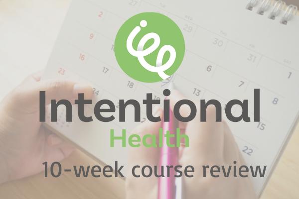 Intentional Health Calendar