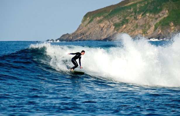 Balance is key to successful surfing – and it's also vital for living life well.